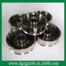 Custom tungsten carbide coated aluminum wire guide pulley for wire drawing machine(China)