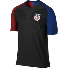 2017 Men's USA Soccer Black Jerseys Quick-Dry Flexible Short T-shirt Cheap US Away Shirt Jersey