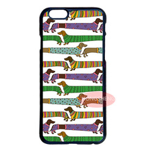 Dachshund Sticker Cover Case for LG iPod 4 5 6 Samsung Note 2 3 4 5 S2 S3 S4 S5 Mini S6 Edge Plus iPhone 4 4S 5 5S 5C 6 6S Plus