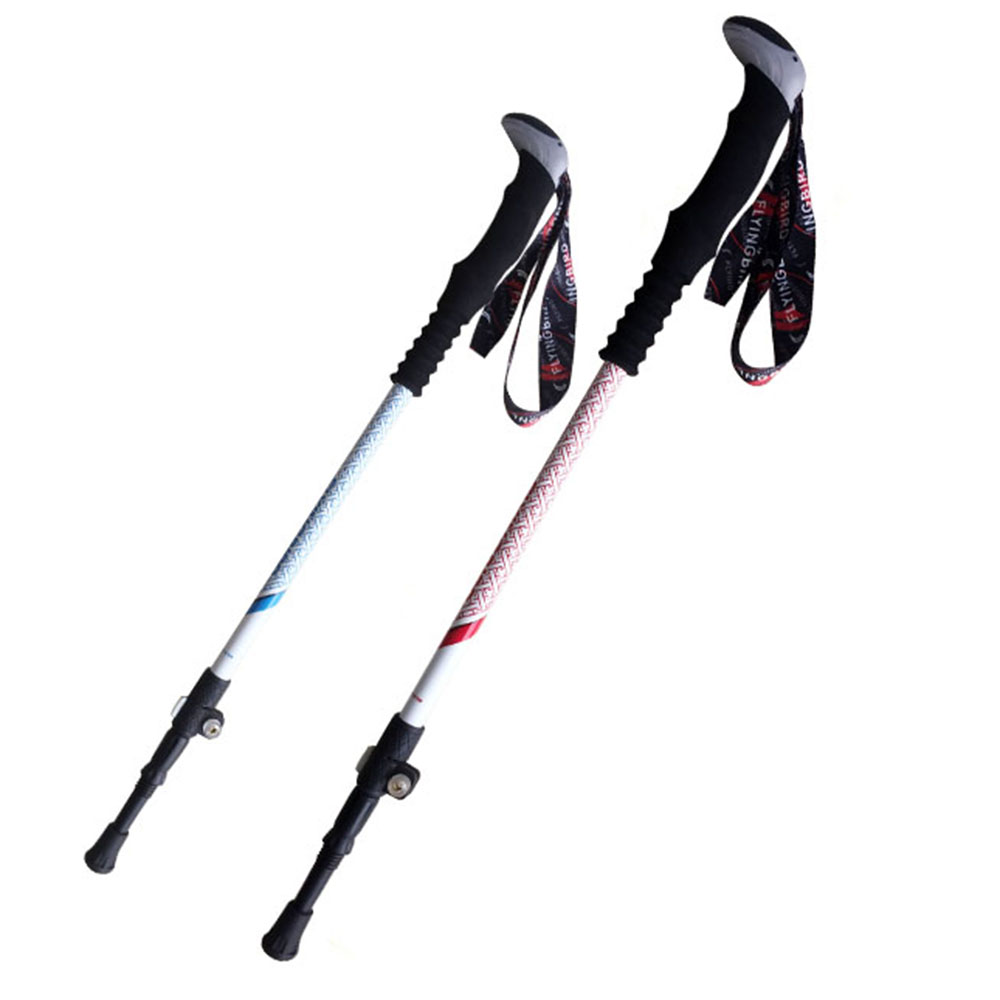 Wearable Rubber Tip End Cap Hammers Trekking Pole Hiking Stick Sports Hoc