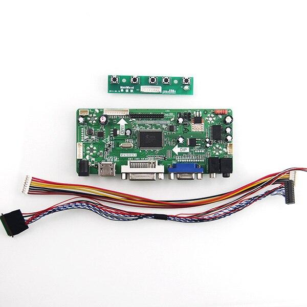 M.NT68676 LCD/LED Controller Driver Board For LP156WF1(TL)(F3) B156HTN01.0  (HDMI+VGA+DVI+Audio) LVDS Monitor Reuse 1920*1080<br>