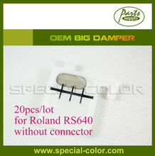 20pcs/lot Roland DX4 Solvent Printhead Big damper for roland RS640/540 Large Damper