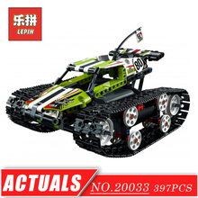 Technic Series 20033 LEPIN RC Track Remote Control Race Car Tank Set DIY Model Building Kits Blocks Bricks Children Toys - LepinBlock Store store