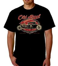 Custom Shirts Gearhead Speed Shop Vintage Tee Hot Rod Car Old School T-Shirt O-Neck Short Sleeve Compression Mens T Shirts