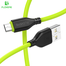 FLOVEME 5V/2A Micro USB Cable Xiaomi Data Sync Fast Charging Phone Cables Samsung Huawei Andriod Micro usb Charger Cord