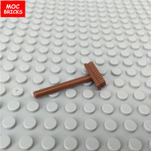 20pcs/lot MOC Bricks 6058A Brown Broom fit with 4211157 Educational Building Blocks Assembled Toys best kids gifts(China)