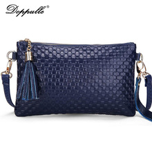 DOPPULLE Brand Fashion women messenger bag first layer cowhide Shoulder Crossbody Bag ladies embossing genuine casual small bag