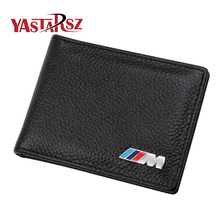 Genuine Leather Car Drivers License Holder Bag M Credit Card Case for BMW E60 E90 F10 E64 E65 E91 E92 F10 F15 F30 X1 X3 X5 X6(China)