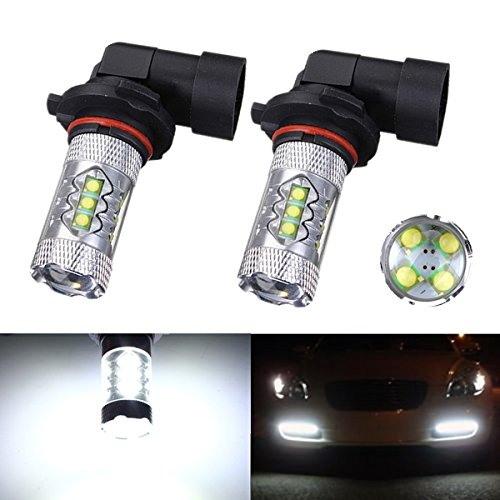 New White 9005 HB3 80W LED Cree Chips Projector Fog Lamp Bulb DRL Driving Light For For 2014 Ford F-150 F-250 F-350 F-450 F-550<br><br>Aliexpress
