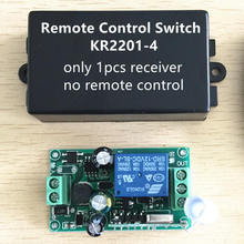 New!!! AC85V~220V 1CH Remote control switch wireless relay 433.92MHz Superheterodyne Receiver module learning 1527 or 2262