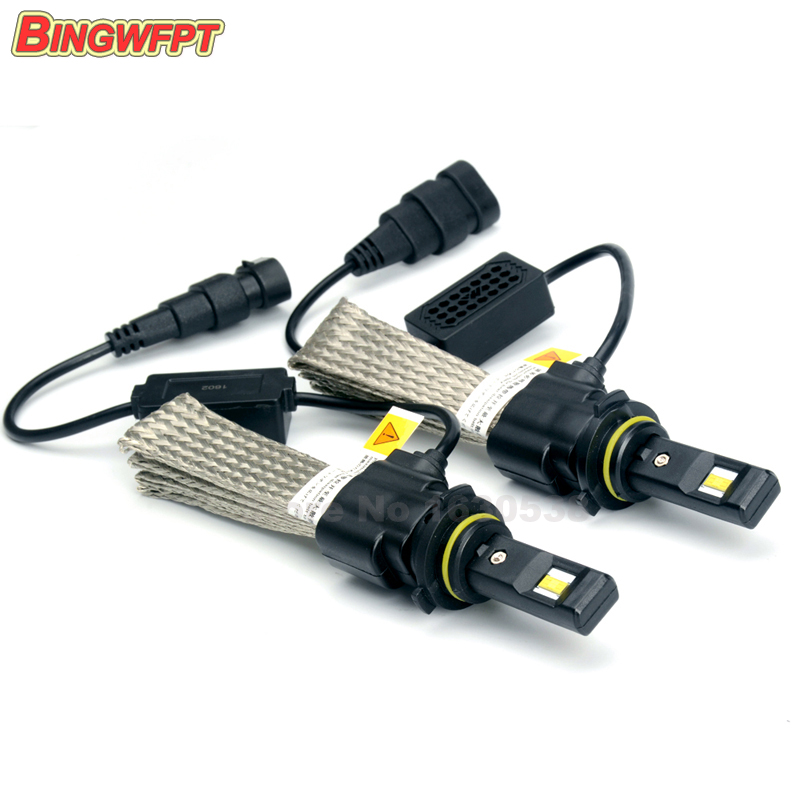2pcs/pair LED HB3 9005 Headlight 6500K Single Beam 20W 3200LM Led Light Replace Xenon Hid and Halogen Bulb<br><br>Aliexpress