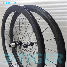 Buy 7-tiger Carbon Wheels Width 25mm 700C Road Bike carbon wheels china Carbon Wheelset 45mm Carbon Clincher Wheelset Bicycle rims for $490.00 in AliExpress store