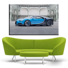 xh1866 blue Canvas Art Car Home Decor Wall Art Painting Canvas Prints Pictures for Living Room