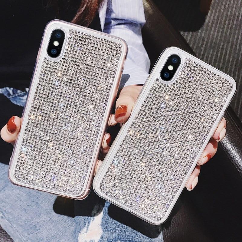 Funda Protectora Glitter Brillantina Elegante Iphone 6 6s - PRO