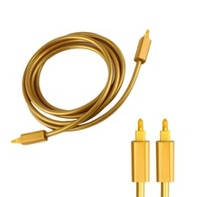 EMK Optical fiber audio line (local tyrants gold series) THJ - A Optic Fiber Toslink Audio SPDIF Cable Cord