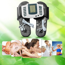 Multifunctional Health Care Product Electronic LCD Body Massage Therapy Machine with Foot Slipper Massager Massagem