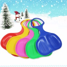 Adult Children Snow Board Skis Easy Snowboard Ski Sled Skiing Sleigh Winter Outdoor Snowing Fun