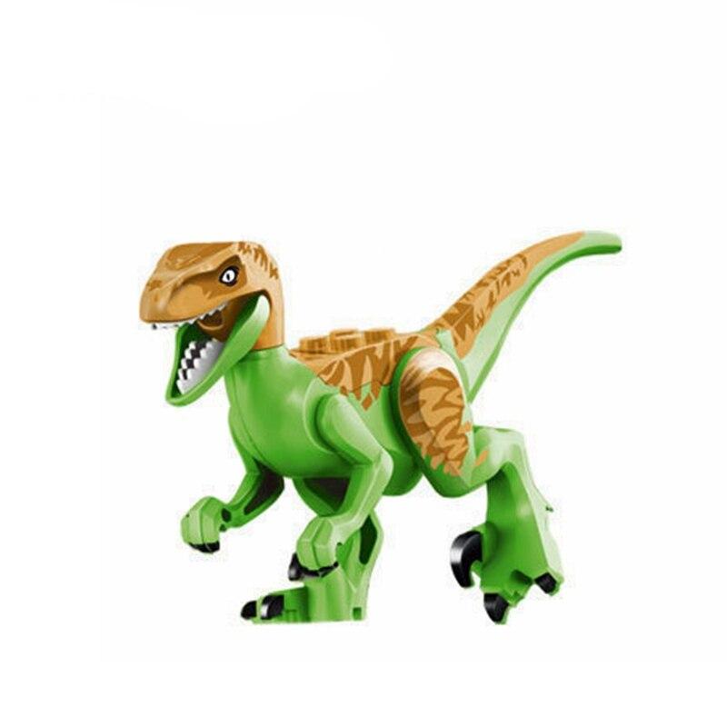 Legoing Jurassic World park Smart Velociraptor Echo toy Dolls  Dinosaurs Toys and Hobbies Building Blocks Toys For Children Gift