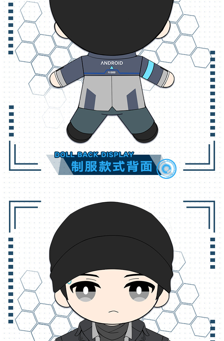 Detroit become human Connor uniform RK 800 (10)