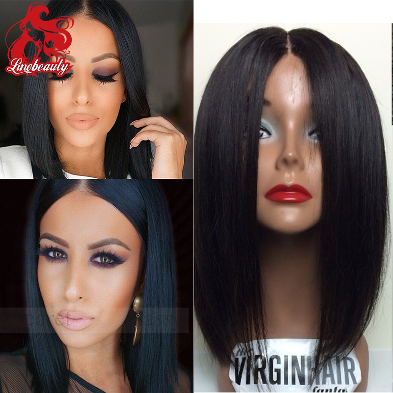 New Arrival Straight Natural Color Wig Heat Resistant Bobo Hair Ladies Wigs african american Straight wigs<br><br>Aliexpress