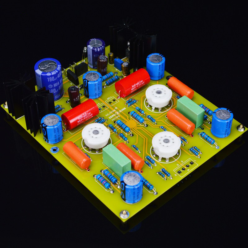 12AX7// 12AU7 Tube Preamp Audio Buffer Bare PCB base on Marantz 7 M7 Preamplifier