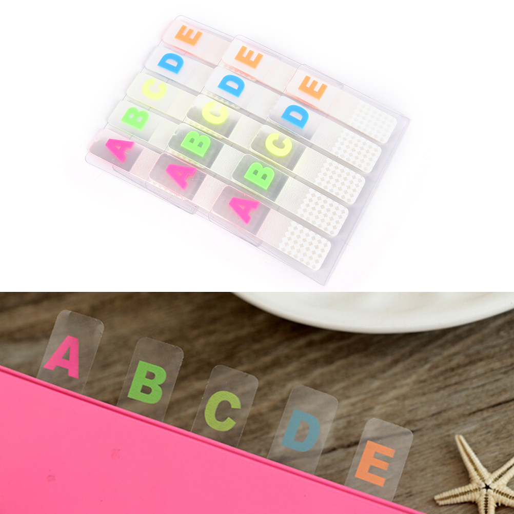 1pc Sticky Notes Office Stationery Cute Kawaii 100 Pages Sticker sticky notes Bookmark Point It Marker Memo Sticker Paper