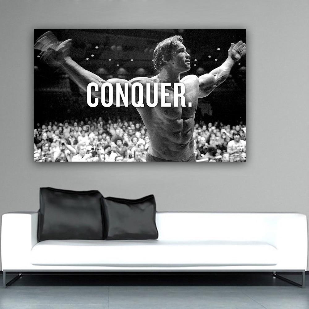 2019 8.3conquer arnold schwarzenegger bodybuilding motivational