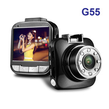 G55 Novatek 96650 Car DVR 1080P Full HD 30FPS Camera 2.0 Screen 170 Degree Wide Angle + G-sensor Dash Camera Free Shipping!!(China)