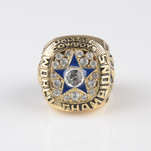 1971 Super Bowl Replica Dallas Cowboys Championship Ring 18k gold plated  bottom price champion rings