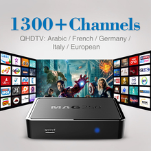 IPTV TV Box Linux Set Top Box mag 250 iptv box hd europe Stability With QHDTV 1300+Live TV Channels Arabic French Italy IPTV Box