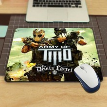 Army Of Two  The Devils Cartel Cute Hot Desk Computer Mouse Pads for Size 18*22cm and 25*29cm