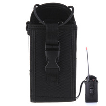 Big Size Nylon Carry Case Bag Pouch for Two Way Radio Motorola GP328 GP338 GP88 GP340 GP3688 MTP850 P8220 TK-3107 UV-82  1Pcs