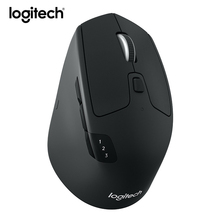 Logitech M720 Bluetooth Wireless Optical Gaming Mouse For Laptop PC Gamer Ergonomics Mouse With Unifying Receiver(China)