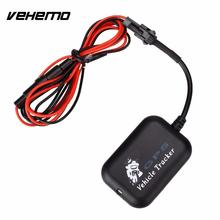 Vehemo Professional Car Motorcycle Global GPS Tracker Locator Tracking Anti-theft(China)