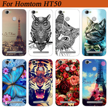 Buy DIY Case Homtom HT50 Cases Homtom HT50 Cover Wolf Tiger Pattern Soft Tpu Back Cover Homtom HT50 5.5Inch Phone Shell for $2.02 in AliExpress store