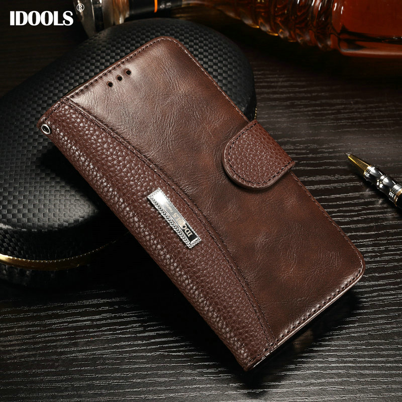Xiaomi Redmi 4X Pro Case IDOOLS Vintage Dirt Resistant 5.0 Inch PU Leather Wallet Cover Phone Bags Cases Xiaomi Redmi 4X
