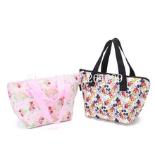 New Fashion Mickey Minnie Girls Woman Mini Theraml Lunch Cooler Bags Handbags For Children