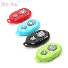 Universal Bluetooth Remote Camera Control Self-timer Release Shutter for samsung s3 s4 iphone 4 5 for ipad blackberry etc(China)