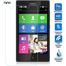 NFH New 0.3mm Screen Saver Tempered Glass Film For microsoft lumia N950 640 1020 640XL Screen Protector Cover For nokia xl x2 9H