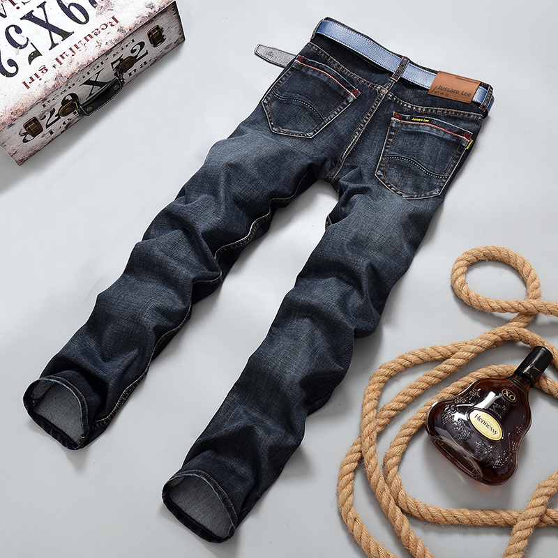 2017 Autumn Winter More Thick and warm  men jeans straight slim casual mens jeans men pants cotton men clothing trousers 2018Одежда и ак�е��уары<br><br><br>Aliexpress