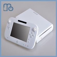 Carbon Fiber Vinyl Skin Sticker Protector for Nintendo Wii U and controller skins Stickers WiiU