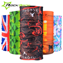 ROCKBROS Summer Outdoor Sports Scarf Bicycle Equipment Headwear Seamless Ride Neck Mask Bike Magic Buff Cycling Headband Bandana