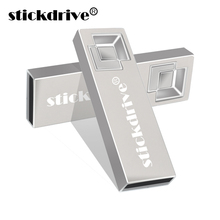 New Waterproof USB Flash Drive metal pen drive 8GB 16GB 32GB 64GB USB stick pendrive flash drive metal U disk Gift