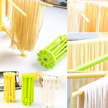 1pcs Noodle Pasta Drying Rack Spaghetti Holder Stand Dryer Hanging Rack Kitchen Accessories Gadget - Color Random(China)
