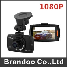 Free shipping cheap type Car dash board camera 1080P video resolution auto recording from Brandoo