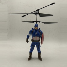 Fly AC New Style Captain American RC Helicopter Flying Shatter Resistant Remote Control Aircraft Toys for children Birthday gift