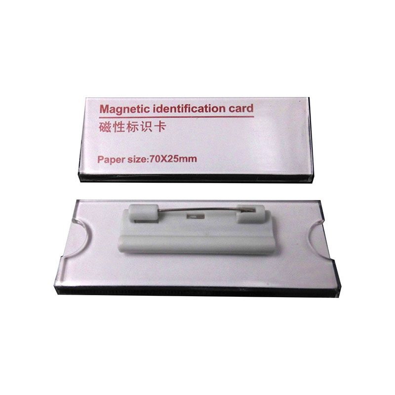 NEW 5pcs Magnetic Name Tag ID Holder Name Badge 3M Tape Nurse Magnetic Fastners