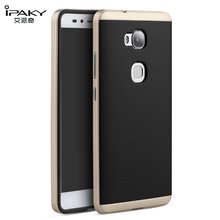 iPaky for Huawei GR5 Case Cover Soft TPU Silicone + Hard PC Frame 2 in 1 Hybrid Armor Case  Honor 5X X5 Cover Protective Shield