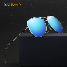 BANMAR 2017 Men Driving Sunglasses Classic Aviator Polarized Glasses Travel Goggles Mirrored Tinted Nice Eyewear Gafas 6067(China)