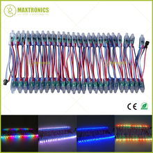 1000pcs 12mm WS2811 2811 IC RGB Led Module String Waterproof DC12V Digital Full Color LED Pixel Light Free shipping by DHL